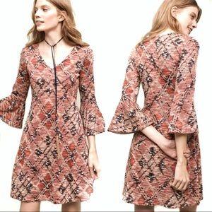 Anthropologie Maeve Knit Sweater Swing Dress
